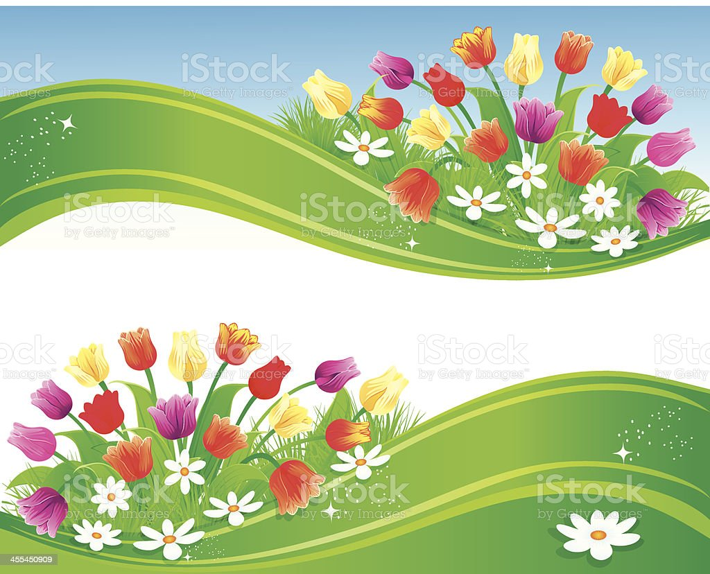 Spring Banner royalty-free spring banner stock vector art & more images of abstract