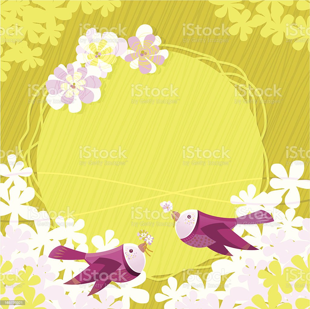 Spring Birds royalty-free spring birds stock vector art & more images of animal family