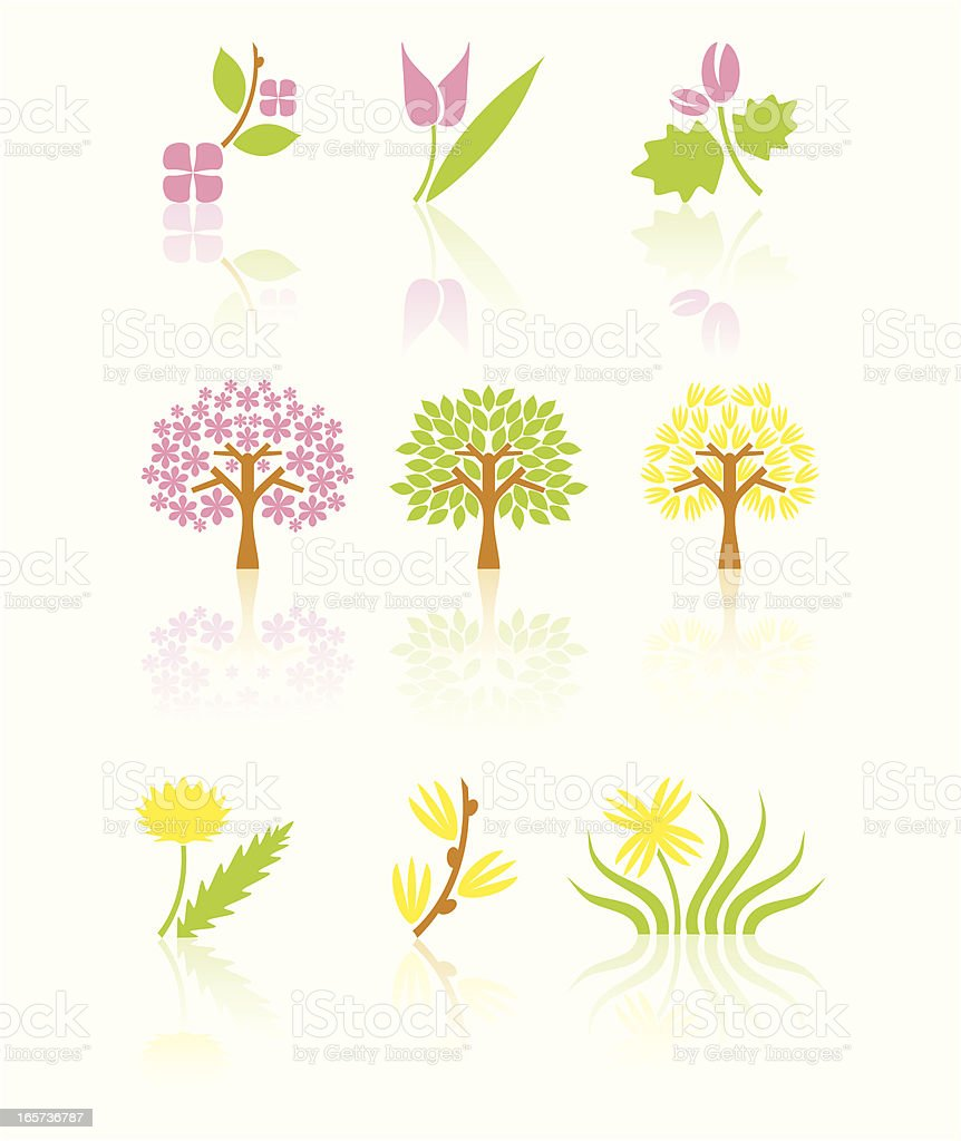 Spring blossom set royalty-free spring blossom set stock vector art & more images of advertisement