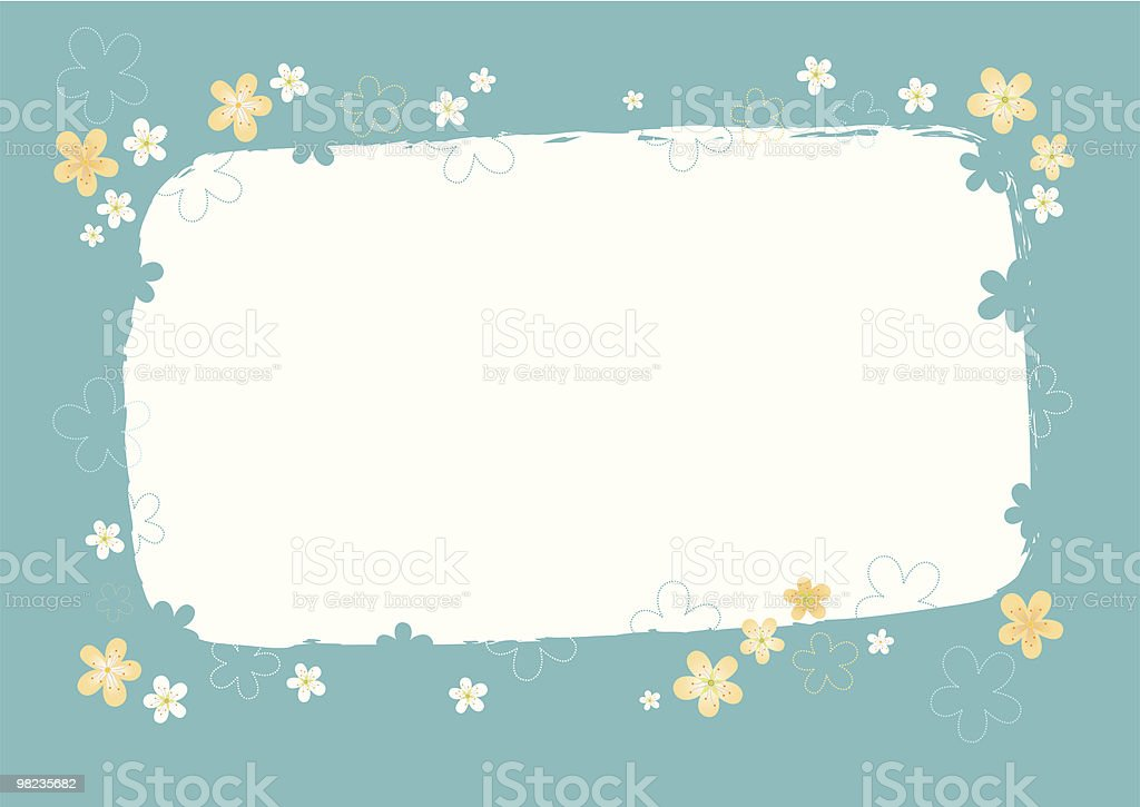 Spring blue background royalty-free spring blue background stock vector art & more images of affectionate