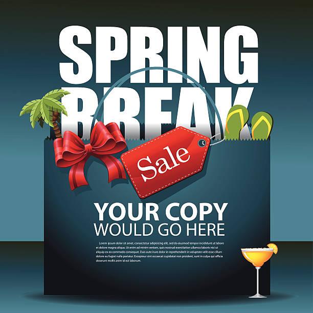 Best Spring Break Illustrations, Royalty-Free Vector ...