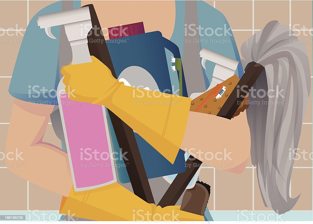 Spring cleaning royalty-free spring cleaning stock vector art & more images of cleaner