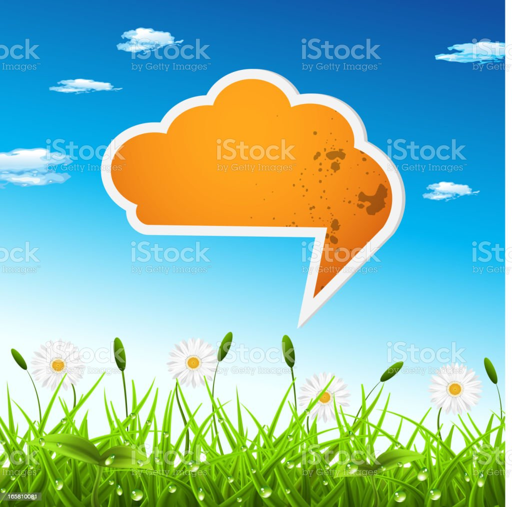 Spring concept royalty-free stock vector art