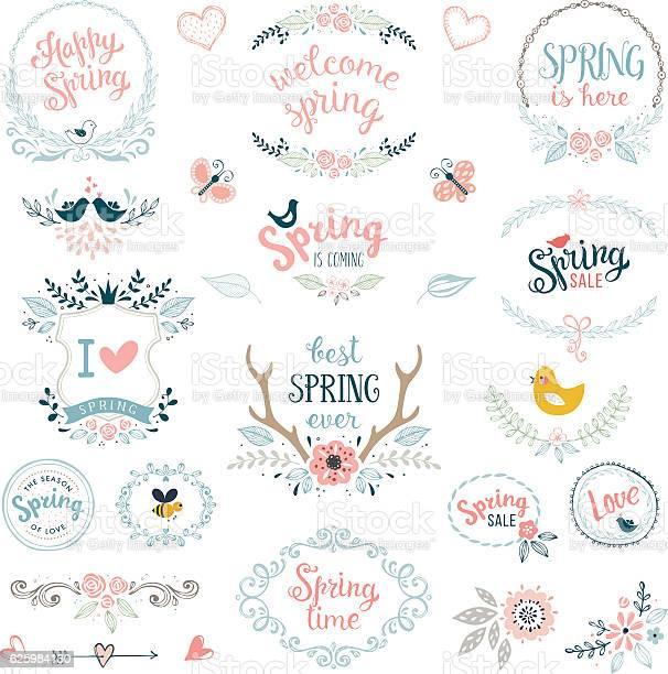 Spring design elements vector id625984130?b=1&k=6&m=625984130&s=612x612&h=5yus26dyykuayxv8gvisjkrxydhlbm6jouvofdxjccg=
