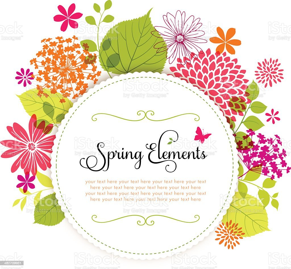 Spring Design with Copyspace royalty-free spring design with copyspace stock vector art & more images of abstract