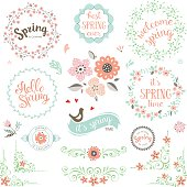 Spring Elements Set