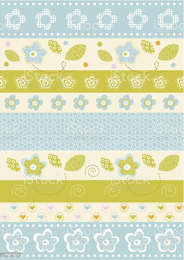 Spring Floral Pattern royalty-free spring floral pattern stock vector art & more images of beige
