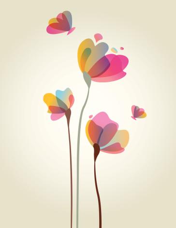 Spring Flower Artwork
