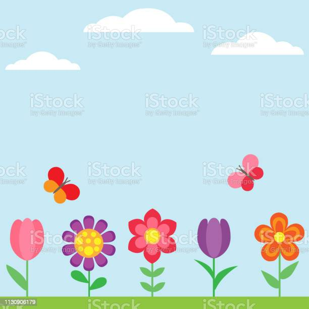 Spring flower background with butterflies vector id1130906179?b=1&k=6&m=1130906179&s=612x612&h=u klon9vkhjfgaa8maja0ntjvt67us9nycdfi  hi1o=