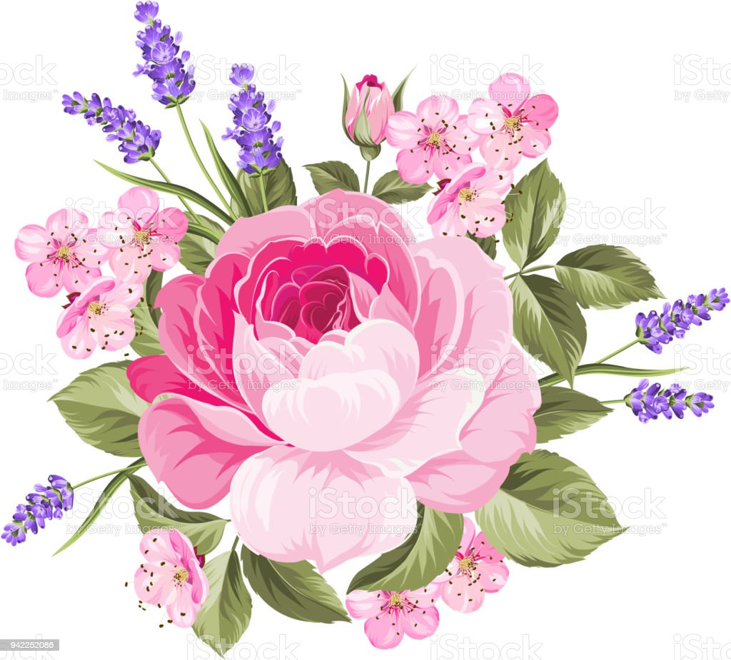 Spring Flowers Bouquet Stock Vector Art More Images Of Art