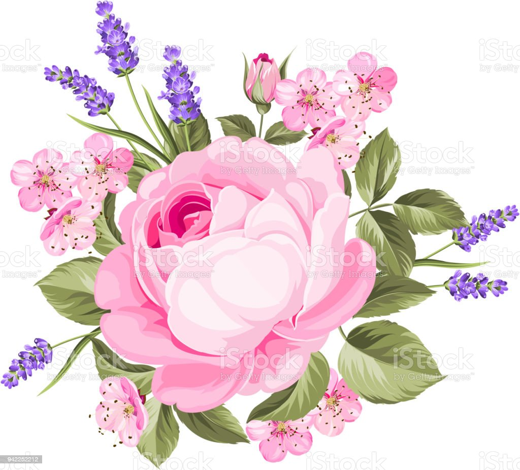Spring Flowers Bouquet Stock Vector Art & More Images of Art ...