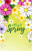 istock Spring flowers illustration 1192494687