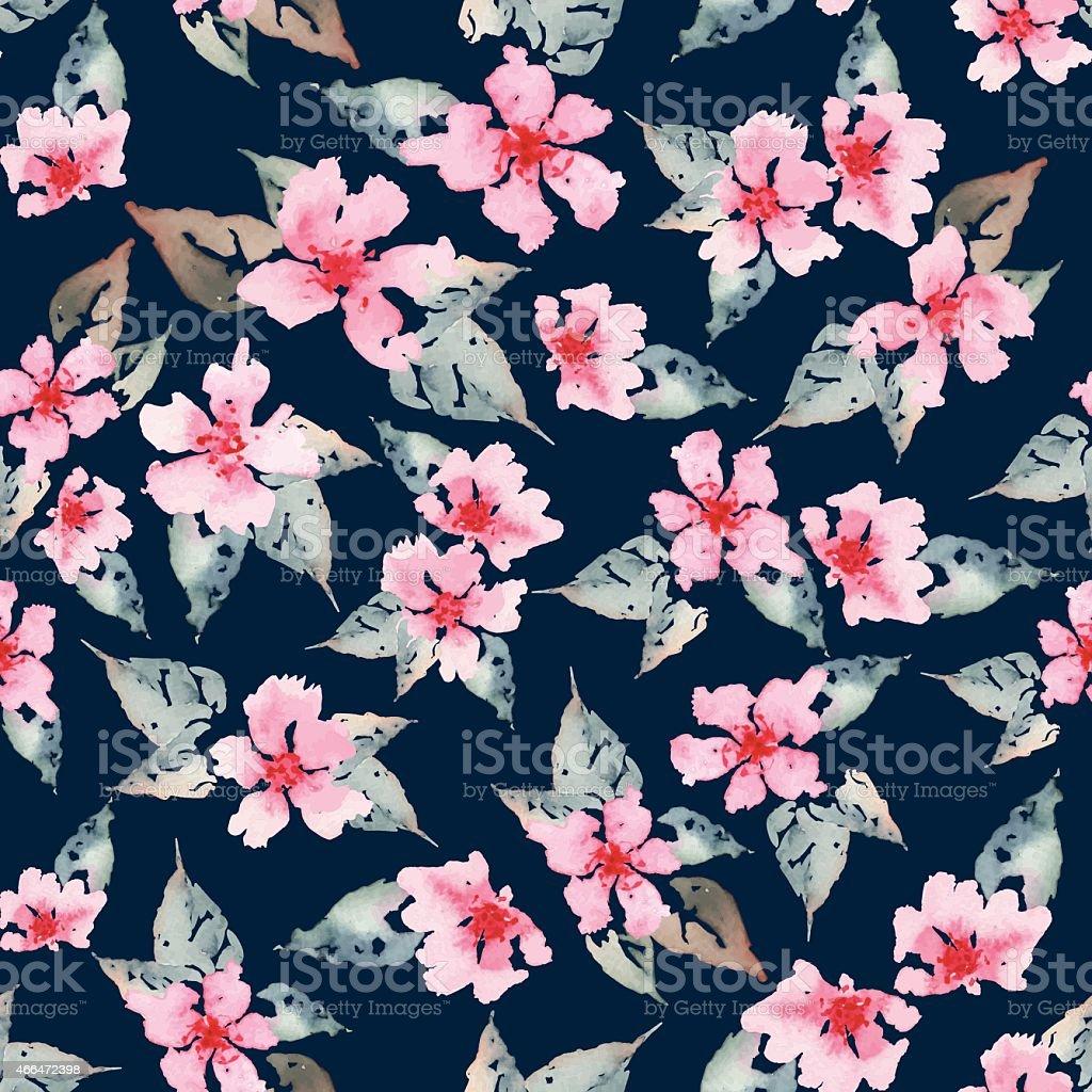 ccdb273ab40bc7 Frühling Blumen Nahtlose Muster Lizenzfreies frühling blumen nahtlose muster  stock vektor art und mehr bilder von