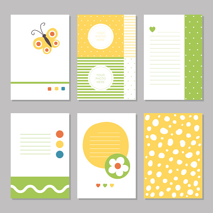 Spring flowers stationary