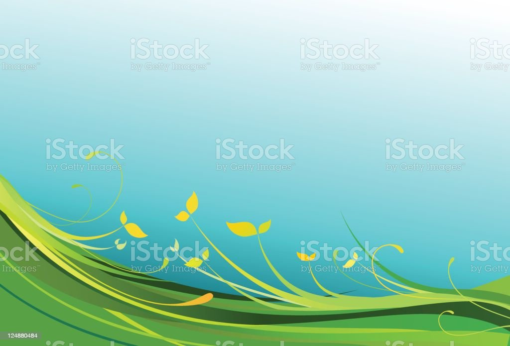 Spring Flowers Vector Floral Ornament Colorful Background royalty-free spring flowers vector floral ornament colorful background stock vector art & more images of 2000-2009