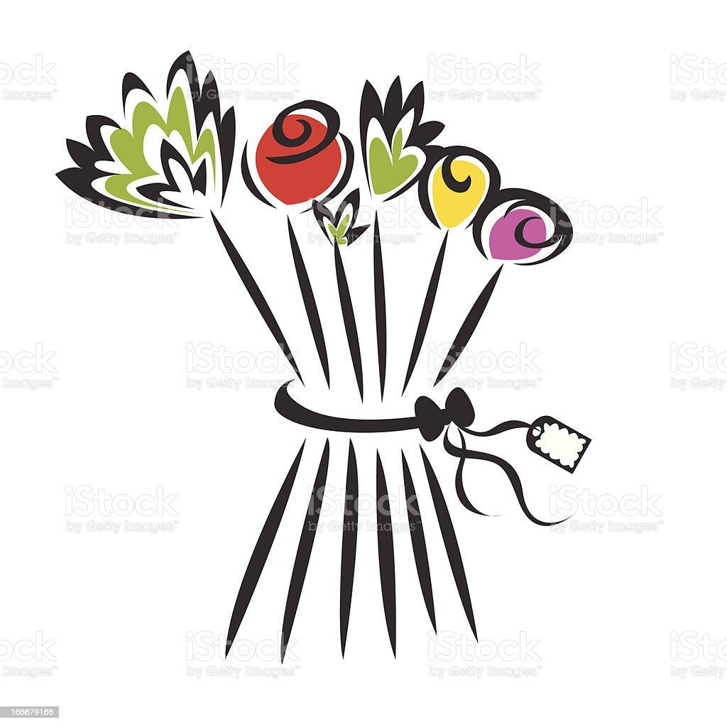 Frühling Blumen – Vektorgrafik