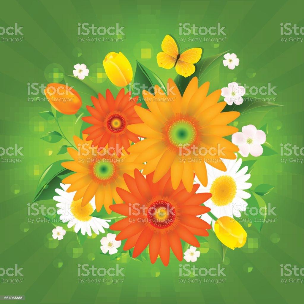 Spring Flowers Stock Vektor Art Und Mehr Bilder Von Apfelbaum