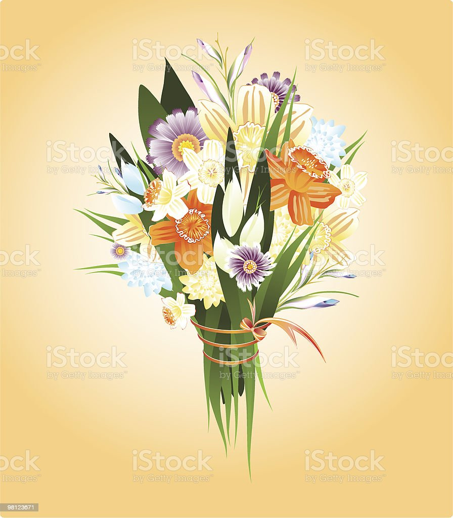 spring flowers royalty-free spring flowers stock vector art & more images of beauty in nature