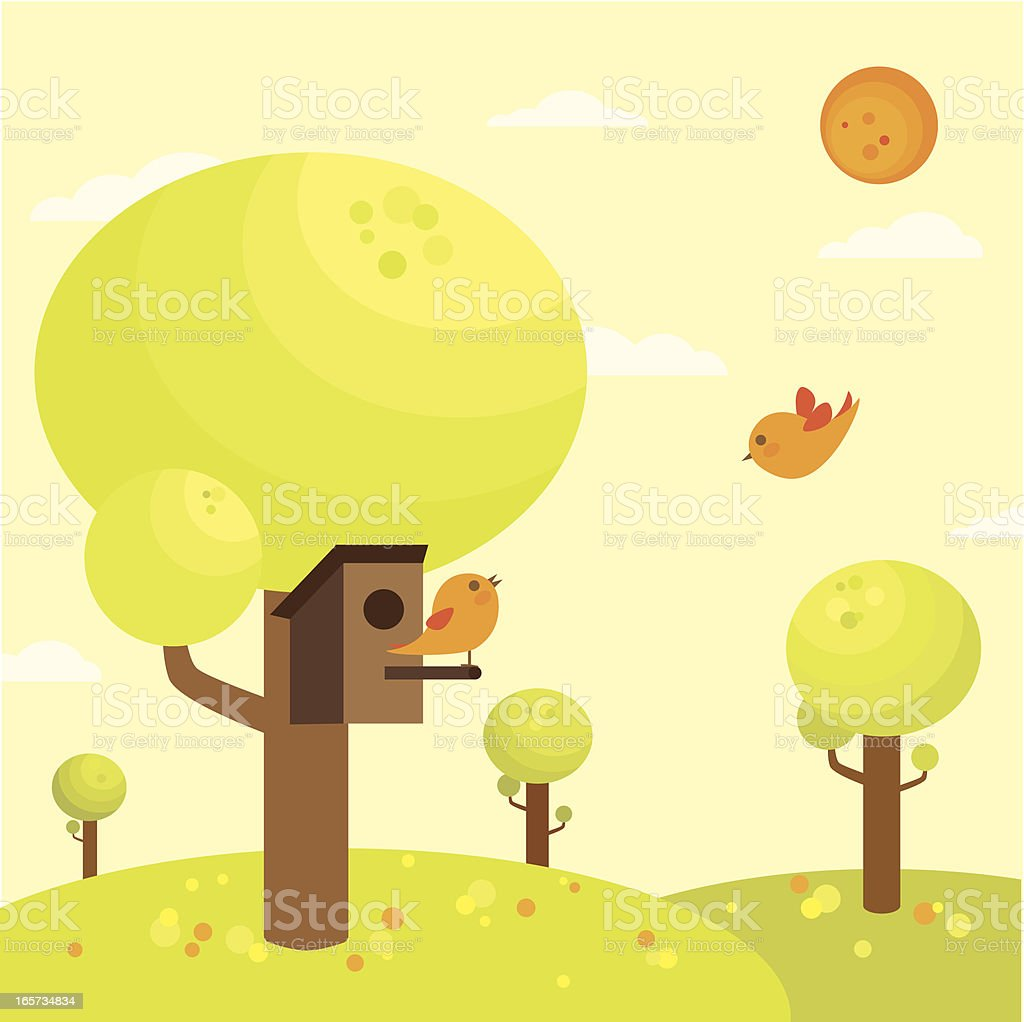Spring forest royalty-free spring forest stock vector art & more images of animal family