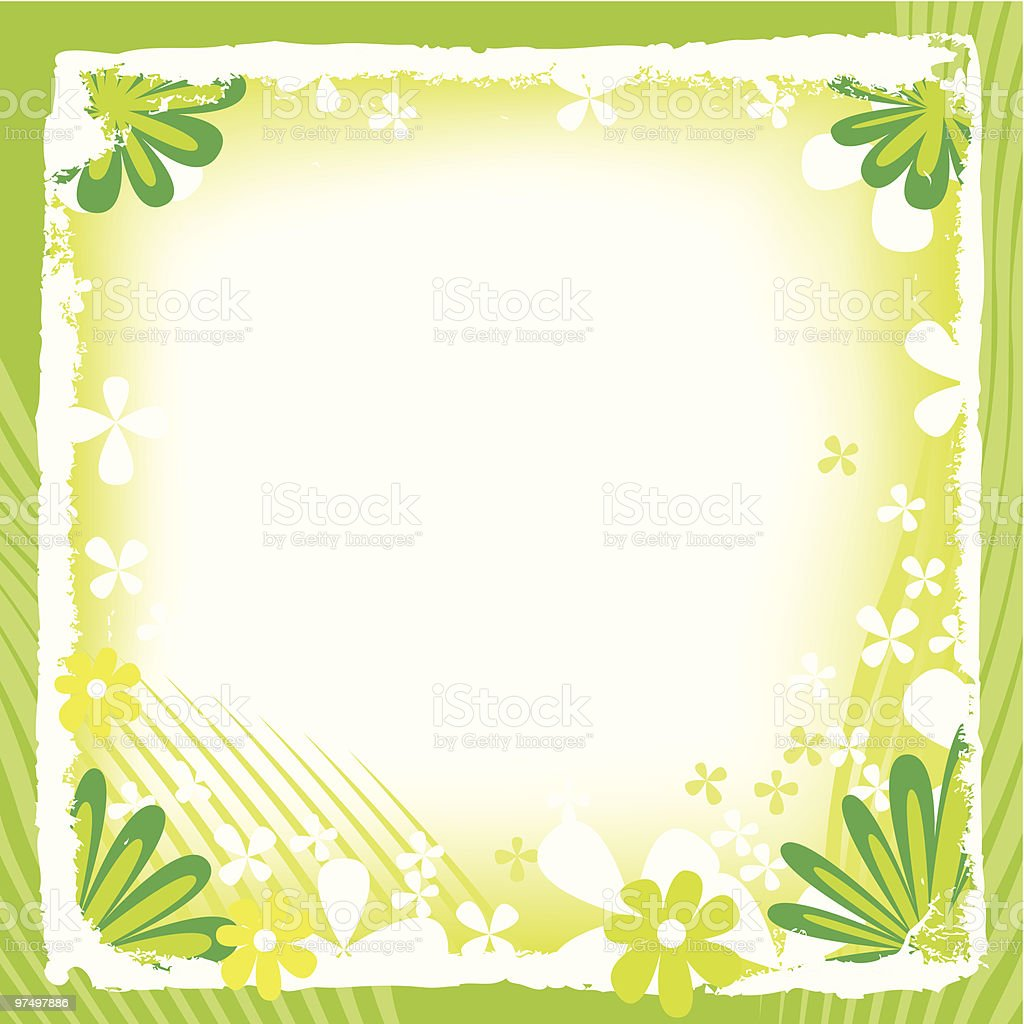 Spring frame royalty-free spring frame stock vector art & more images of blossom