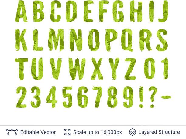 春の緑の明るいシンボルのコレクションです。 - 環境点のイラスト素材/クリップアート素材/マンガ素材/アイコン素材