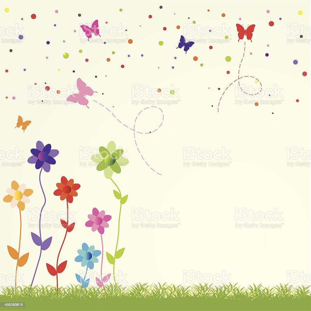spring illustration royalty-free stock vector art