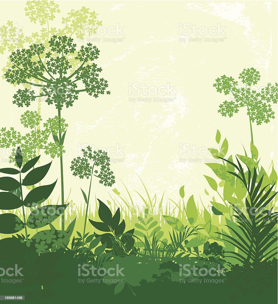 Spring is here! royalty-free stock vector art
