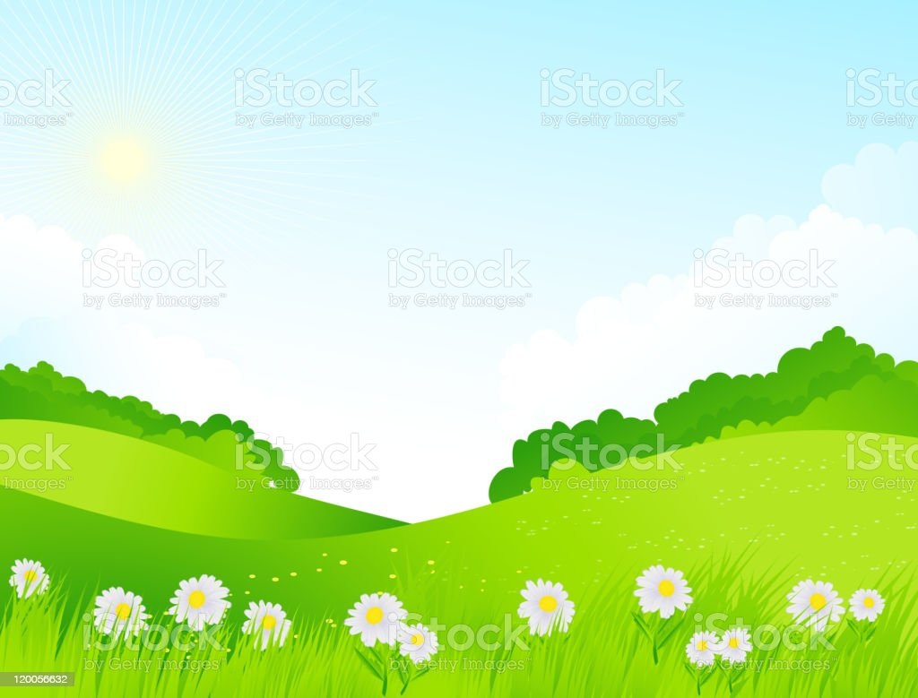 Spring landscape royalty-free spring landscape stock vector art & more images of abstract