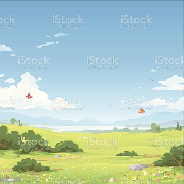 Spring landscape vector id164655207?b=1&k=6&m=164655207&s=612x612&h=r rjicruqvuiu1dj7my6qeap7gbtz3lsd7ilfvhbha0=