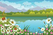 Beautiful Spring Landscape.Please visit my lightboxes
