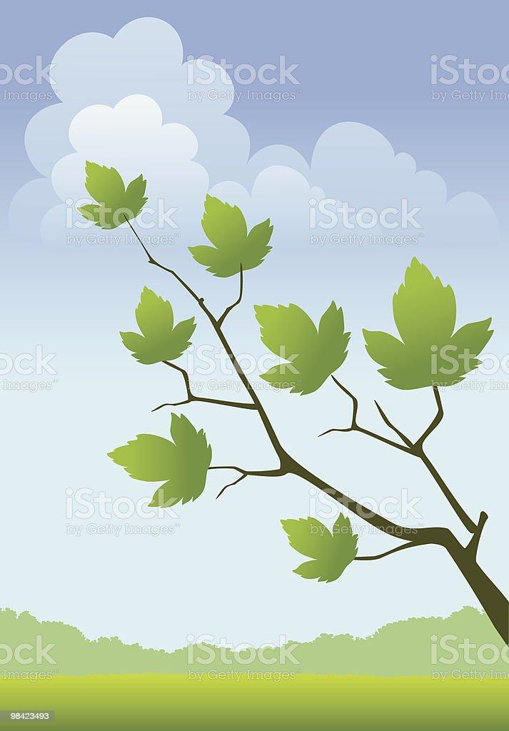 Spring landscape royalty-free spring landscape stock vector art & more images of art