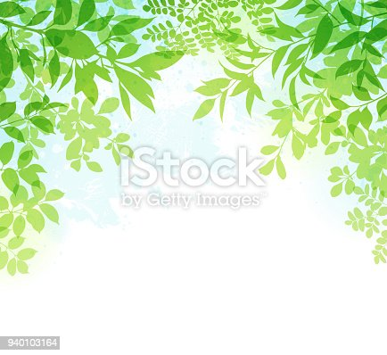 istock Spring Leaves Background 940103164
