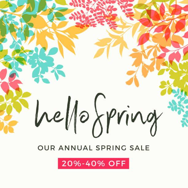 illustrations, cliparts, dessins animés et icônes de feuilles de printemps  - printemps
