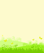 vector file of spring nature