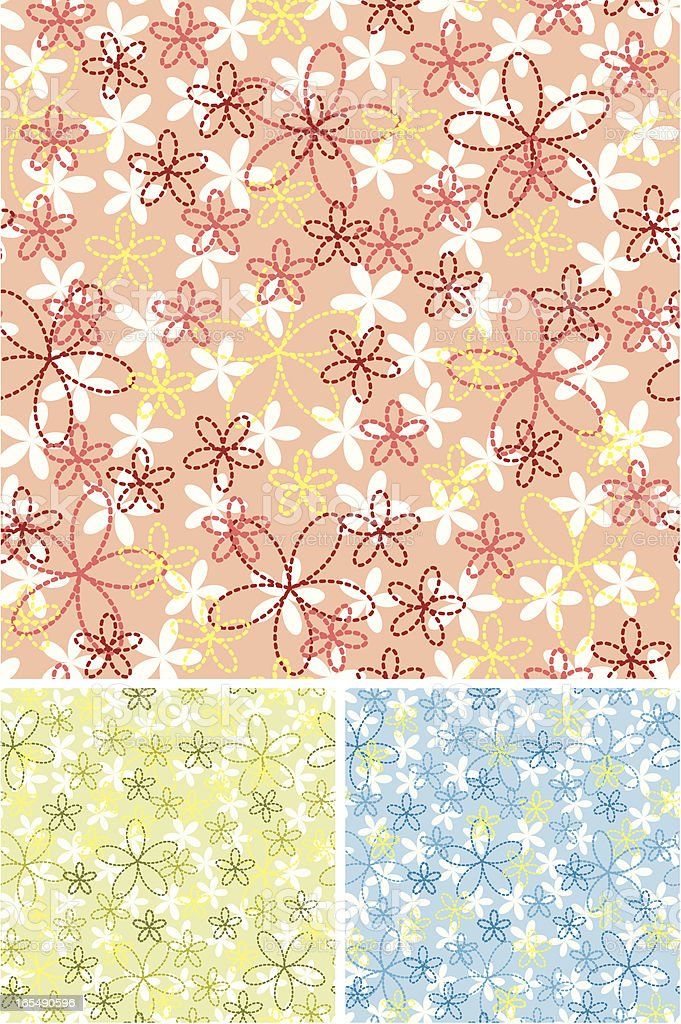 Spring pattern royalty-free stock vector art