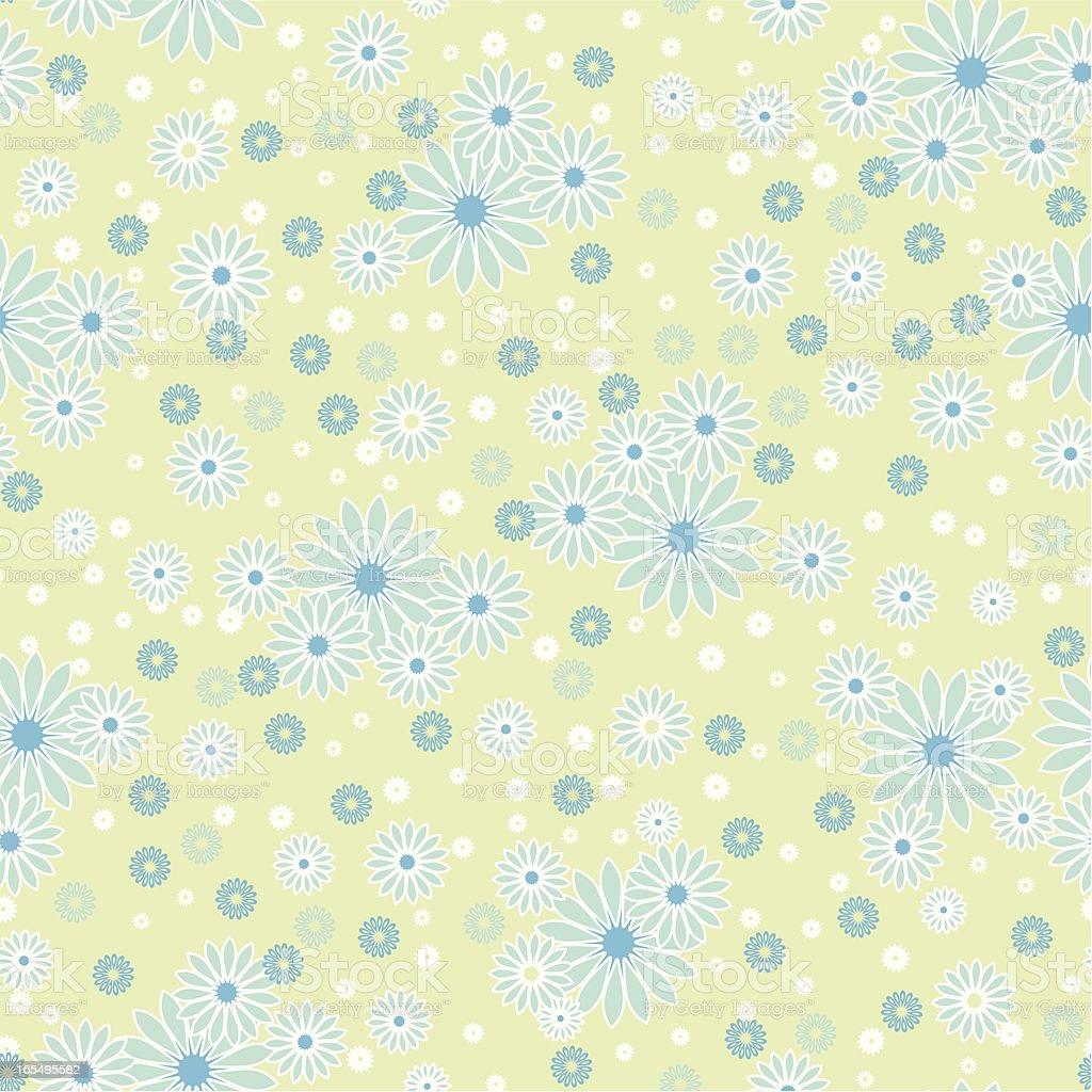 Spring pattern vector art illustration