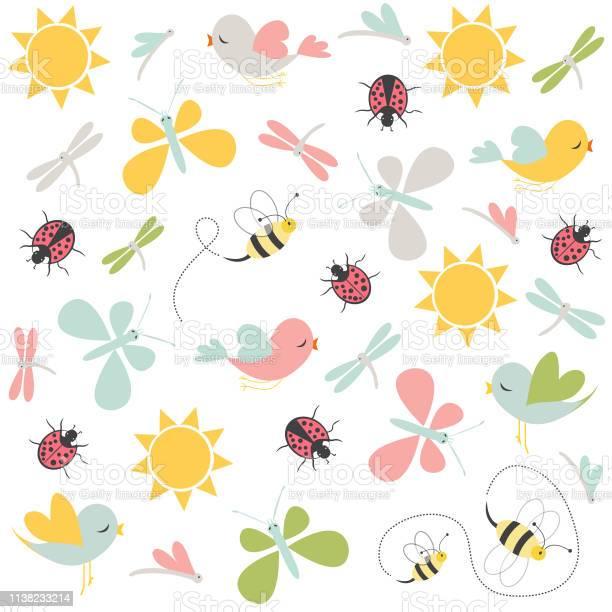 Spring pattern vector seamless background vector id1138233214?b=1&k=6&m=1138233214&s=612x612&h=hxbn9r5bzpctyh96wkgjyg4uzueuztaaoz 0j6lsxxg=