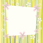 spring plum flower blooming colorful picture frame