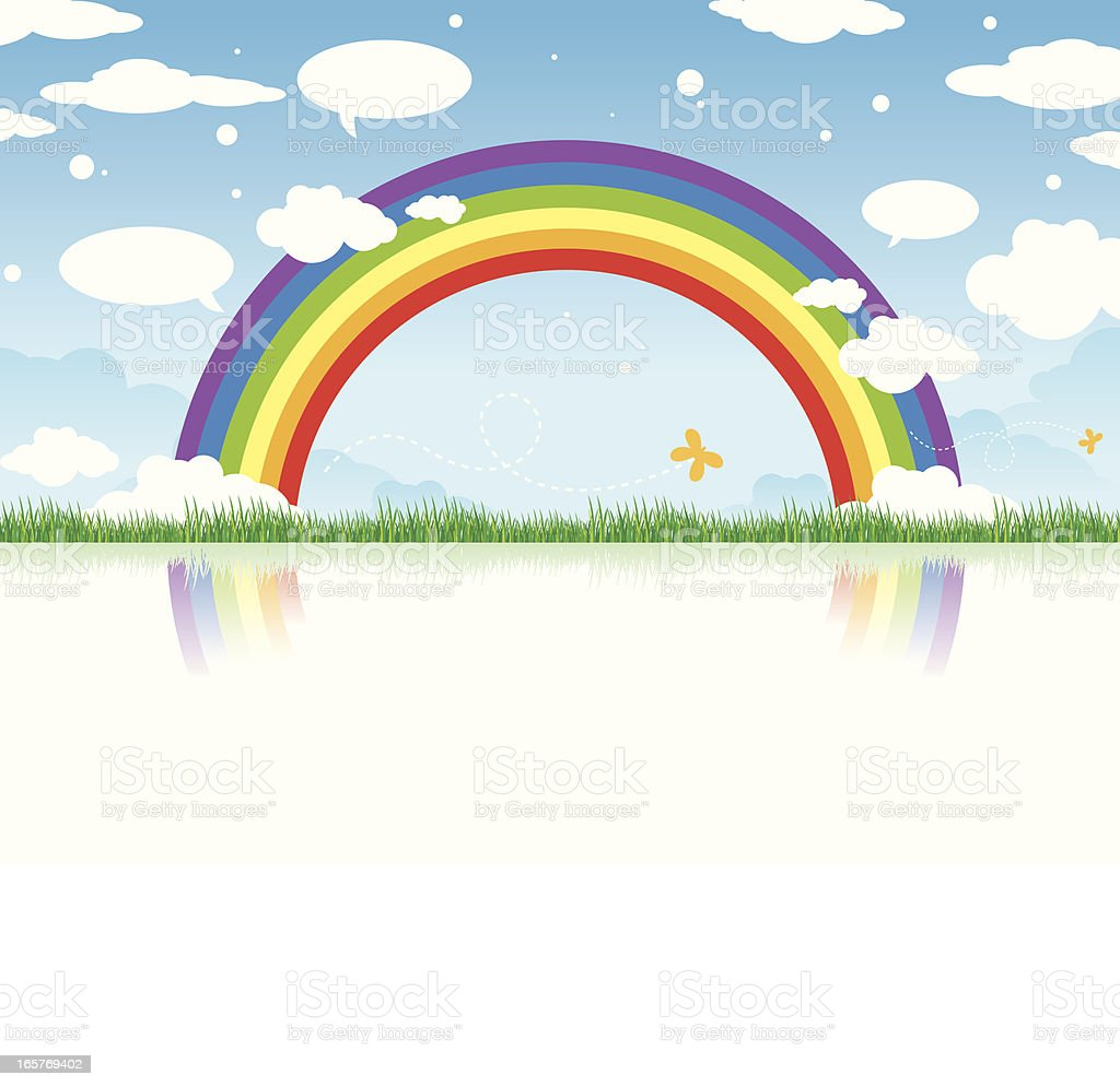 Spring Rainbow is Here royalty-free spring rainbow is here stock vector art & more images of animal markings