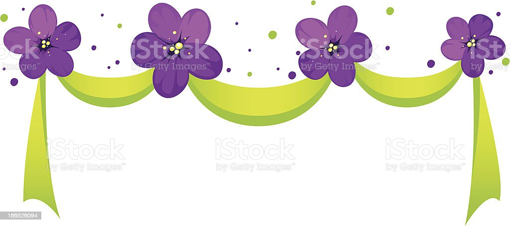 Spring ribbon royalty-free stock vector art