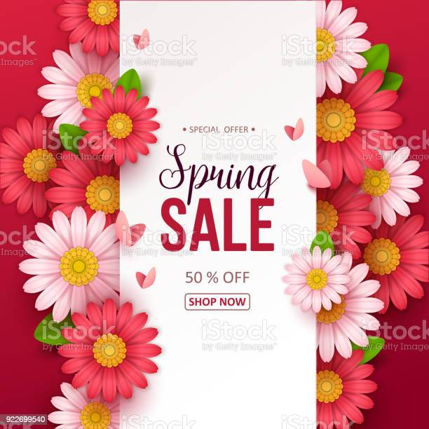 Spring sale background with beautiful flowers vector id922699540?b=1&k=6&m=922699540&s=612x612&h=vqb99bi7nt 516x tdwfv722eacig0ysftw hclbejg=