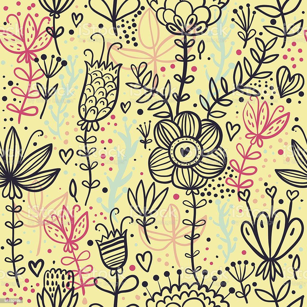 seamless pattern di primavera seamless pattern di primavera - immagini vettoriali stock e altre immagini di arredamento royalty-free