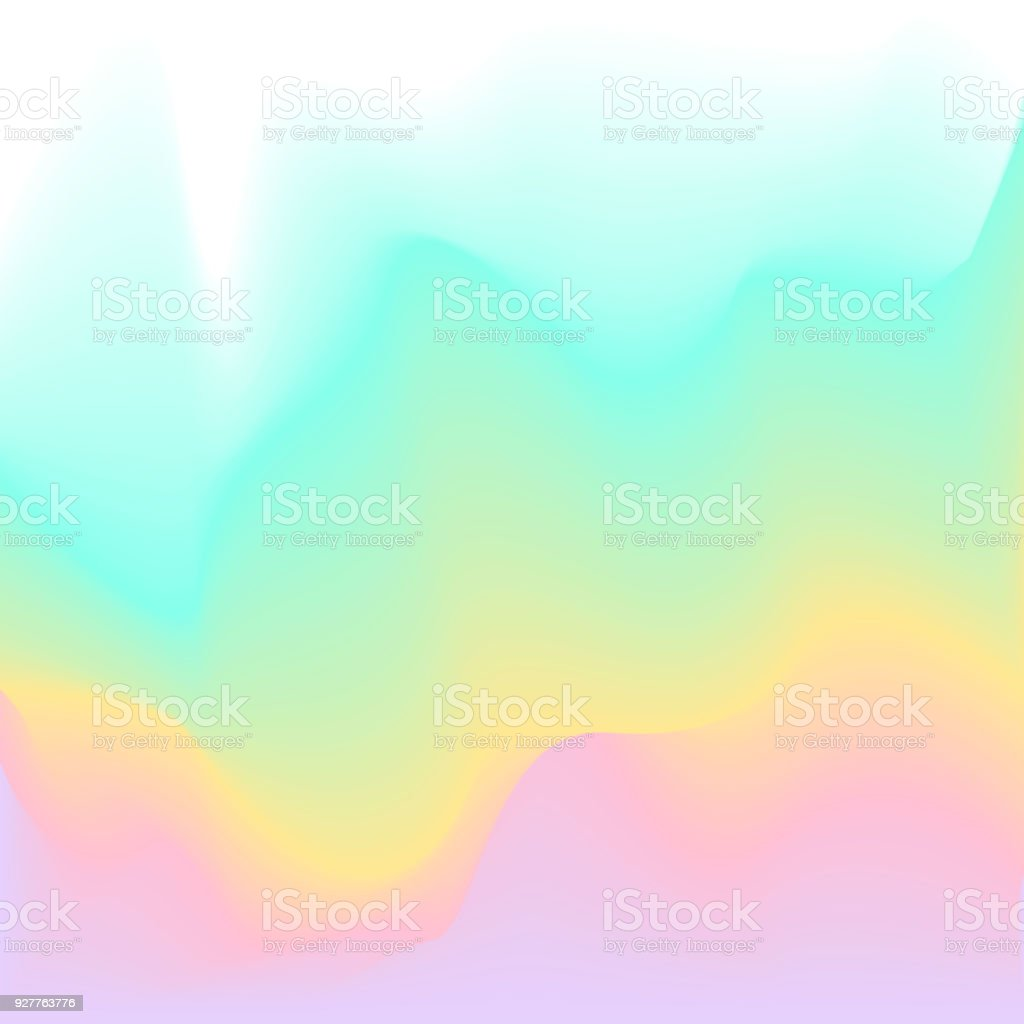 Spring Summer Blurred Soft Pastel Color Palette Smooth Gradient Flow