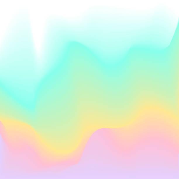 frühjahr sommer fließend weiche pastellfarben paletten gradient reibungslosen textur-hintergrund - pastellgelb stock-grafiken, -clipart, -cartoons und -symbole