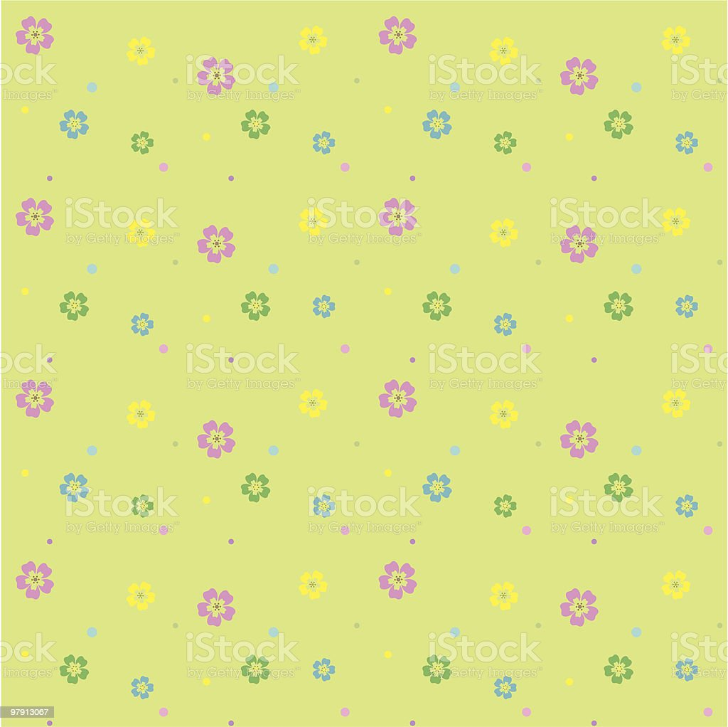 Spring / Summer Seamless Pattern (Vector) royalty-free spring summer seamless pattern stock vector art & more images of art