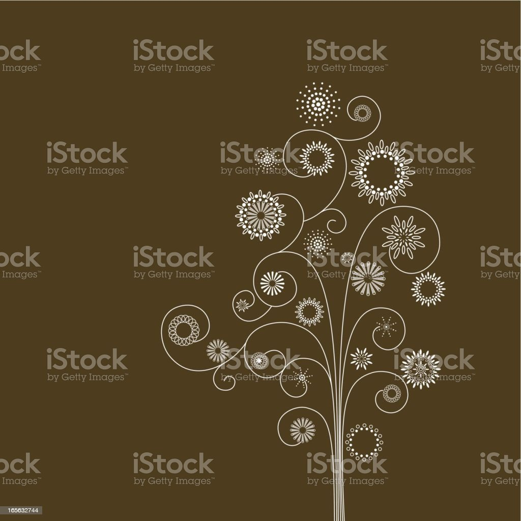 Spring tree royalty-free stock vector art