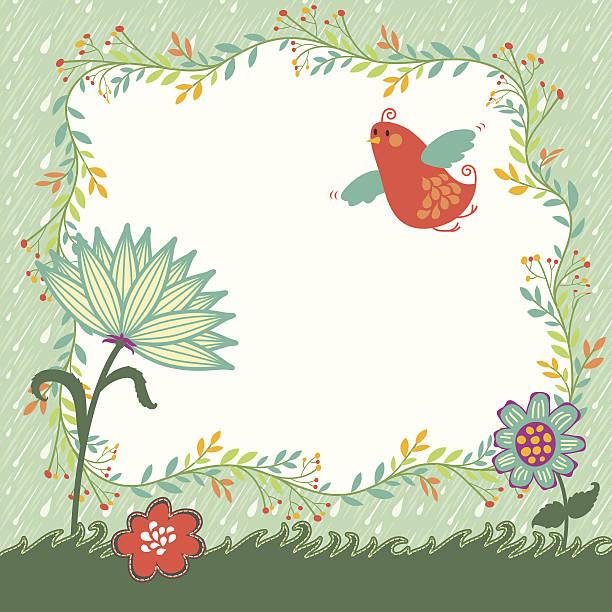 Spring Vector Background vector art illustration