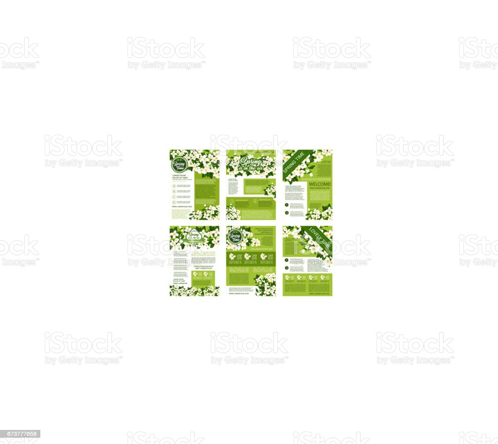 Spring vector posters or brochures flowers bunches spring vector posters or brochures flowers bunches – cliparts vectoriels et plus d'images de affiche libre de droits