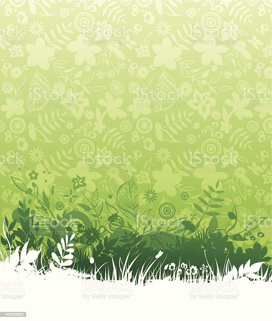 春の壁紙を背景に イラストレーションのベクターアート素材や画像を