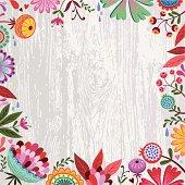 Spring-Sommer Flowers Design.